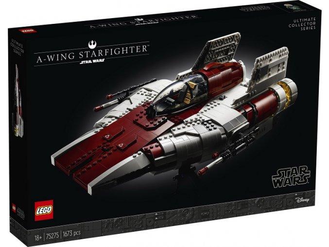 LEGO STAR WARS 75275 Stíhačka A-wing  + volná rodinná vstupenka do Muzea LEGA Tábor v hodnotě 370 Kč
