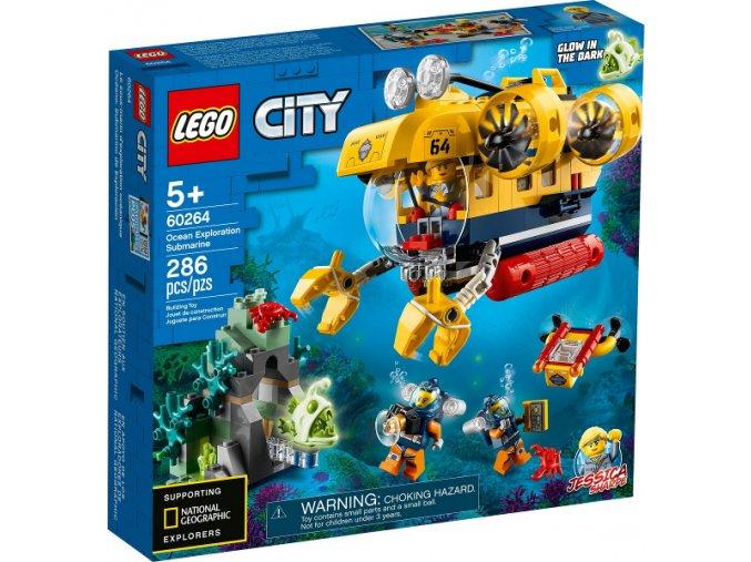 Lego City 60264 Oceánská průzkumná ponorka