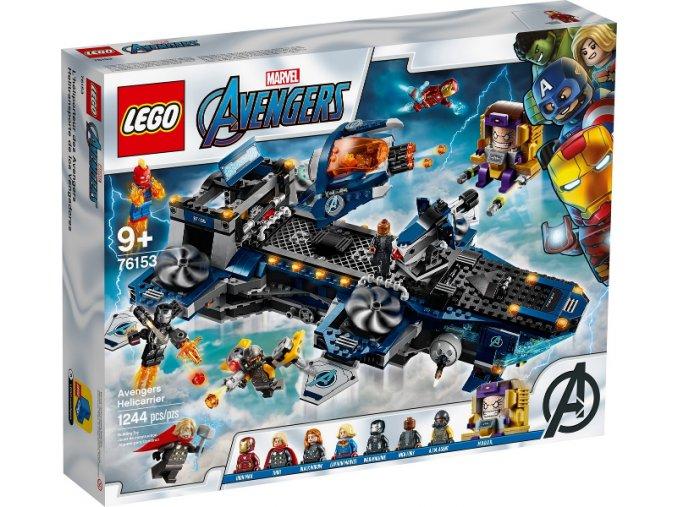 LEGO 76153 Helicarrier Avengerů