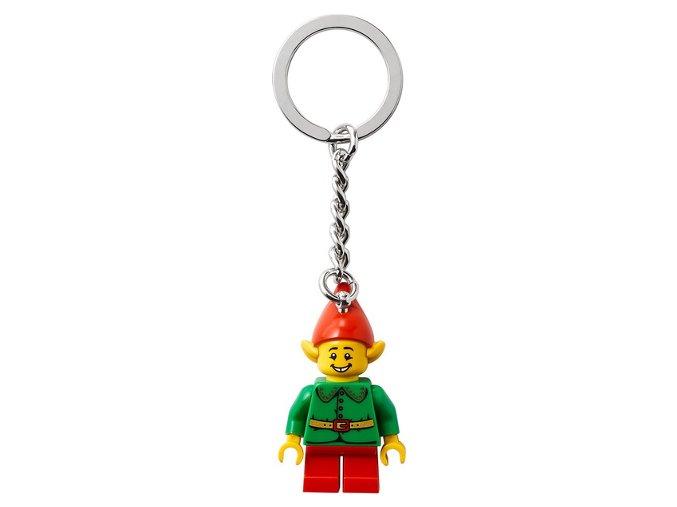 LEGO 854041 Přívěsek na klíče – Veselý Santův pomocník