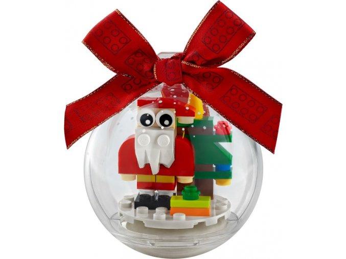 LEGO 854037 Vánoční ozdoba se Santou