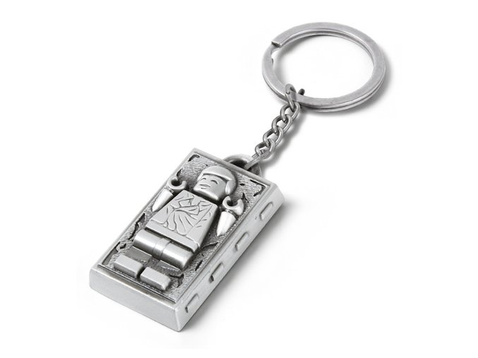 LEGO Star Wars 5006363 přívěsek Han Solo in Carbonite Key Chain (Metal)