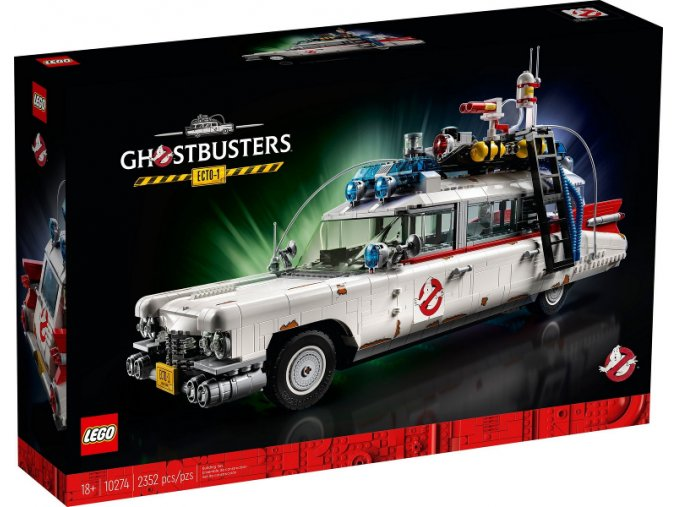 Lego Creator 10274 Krotitelé duchů – ECTO-1  + volná rodinná vstupenka do Muzea LEGA Tábor v hodnotě 370 Kč
