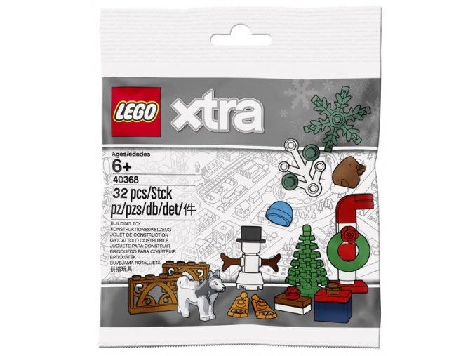 LEGO XTRA 40368 Vánoční doplňky
