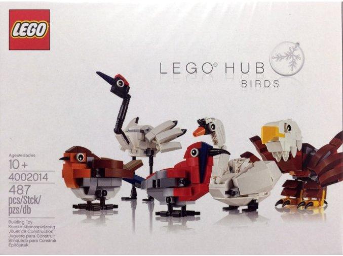 LEGO 4002014 HUB BIRDS  + volná rodinná vstupenka do Muzea LEGA Tábor v hodnotě 370 Kč