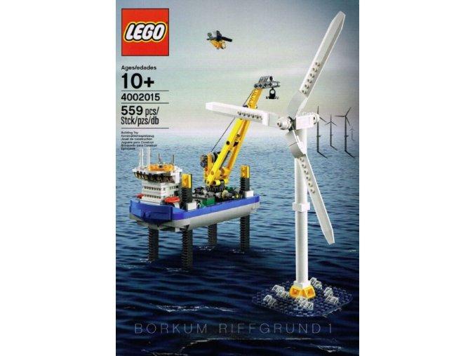 LEGO 4002015 Limited Edition 4002015 Borkum Riffgrund 1  + volná rodinná vstupenka do Muzea LEGA Tábor v hodnotě 370 Kč