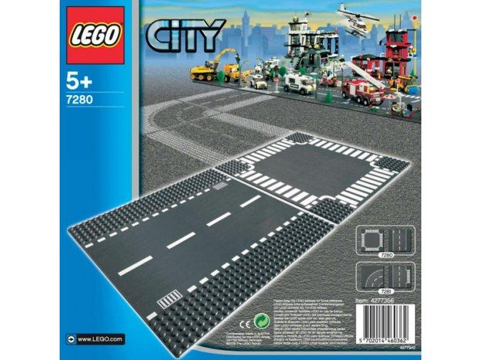 Lego City 7280 křižovatka + rovinka