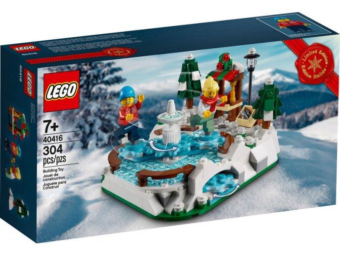 LEGO 40416 Ice Skating Rink (ledové kluziště)