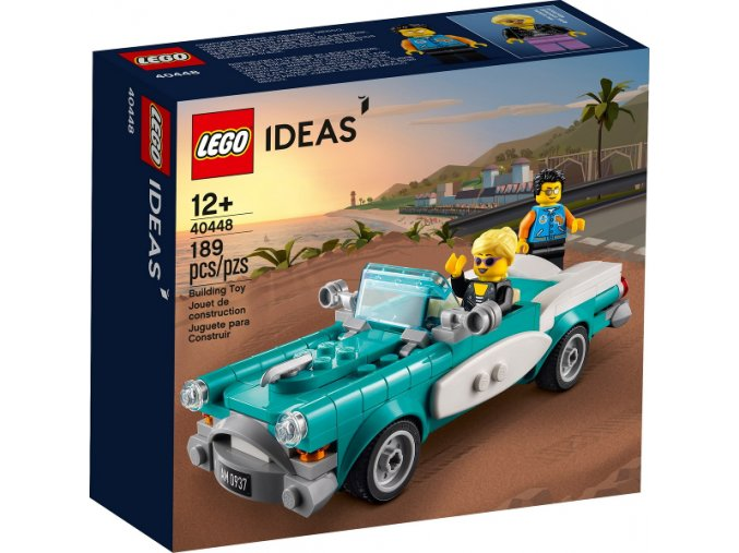 LEGO Ideas 40448 Veterán (Vintage Car)