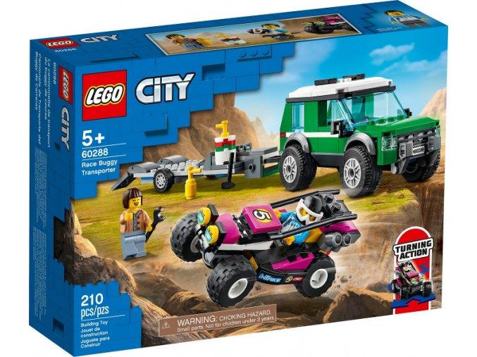 Lego CITY 60288 Transport závodní buginy