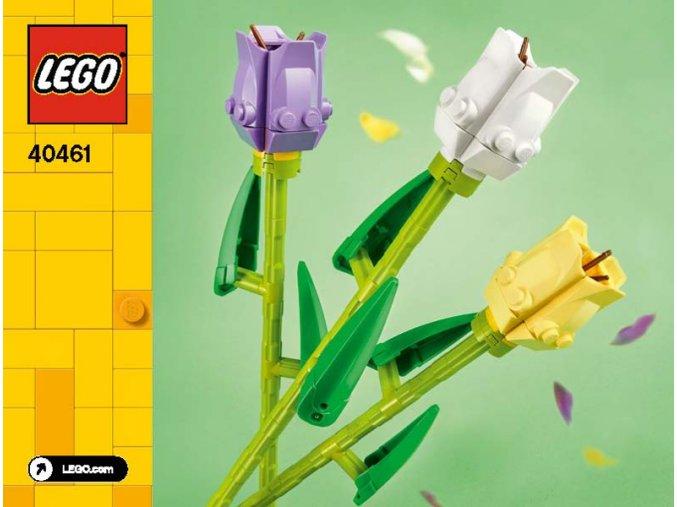 Lego 40461 Tulipány