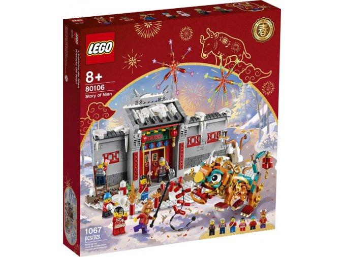 LEGO 80106 Legenda o Nianovi