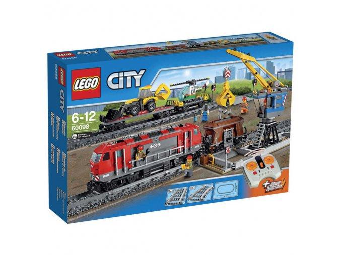 Lego City 60098 Nákladní vlak  + volná rodinná vstupenka do Muzea LEGA Tábor v hodnotě 370 Kč