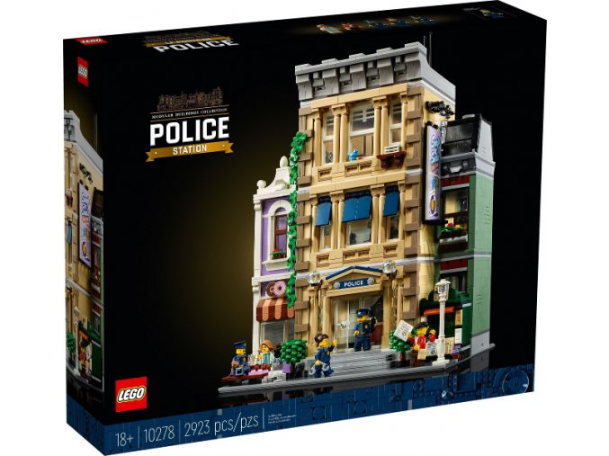 LEGO Creator Expert 10278 Policejní stanice  + volná rodinná vstupenka do Muzea LEGA Tábor v hodnotě 370 Kč