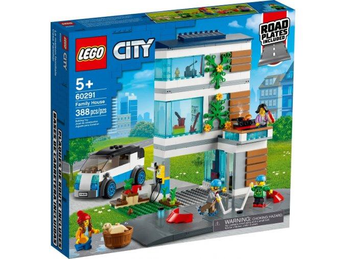 Lego CITY 60291 Rodinný dům