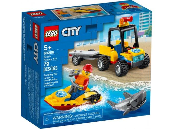 LEGO CITY 60286 Záchranná plážová čtyřkolka