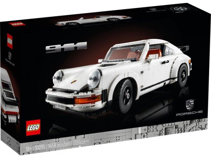 Lego Creator 10295 Porsche 911  + volná rodinná vstupenka do Muzea LEGA Tábor v hodnotě 370 Kč