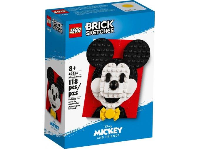 LEGO Brick Sketches™ 40456 Myšák Mickey
