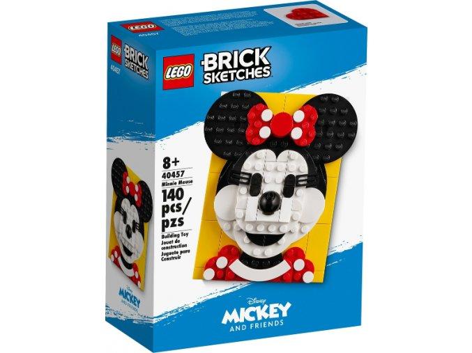 LEGO Brick Sketches™ 40457 Myška Minnie