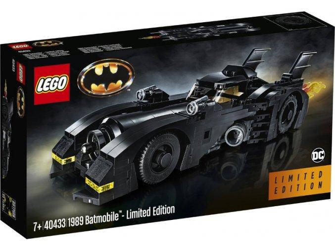 LEGO 40433 Super Heroes 1989 Batmobil - Limited edition  + volná rodinná vstupenka do Muzea LEGA Tábor v hodnotě 370 Kč