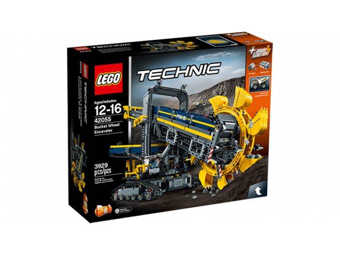 Lego TECHNIC 42055 důlní rypadlo  + volná rodinná vstupenka do Muzea LEGA Tábor v hodnotě 370 Kč