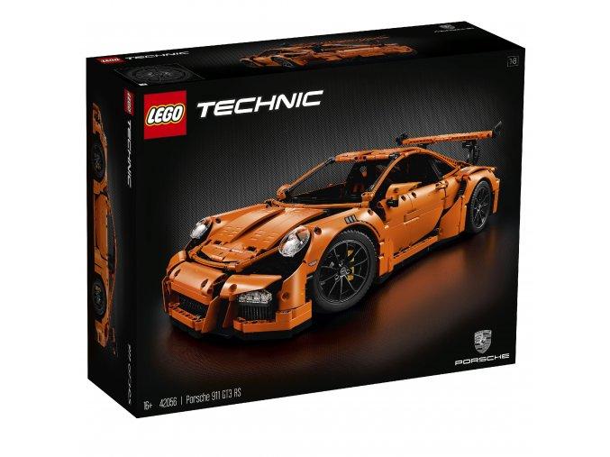 Lego Technic 42056 Porsche 911 GT3 RS  + volná rodinná vstupenka do Muzea LEGA Tábor v hodnotě 370 Kč