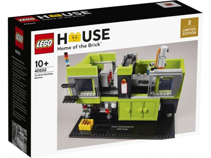 LEGO 40502 The Brick Moulding Machine  + volná rodinná vstupenka do Muzea LEGA Tábor v hodnotě 370 Kč