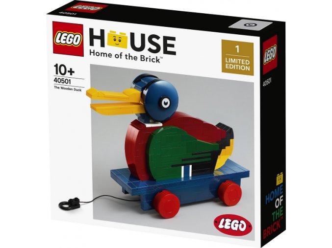 LEGO 40501 The Wooden Duck  + volná rodinná vstupenka do Muzea LEGA Tábor v hodnotě 370 Kč