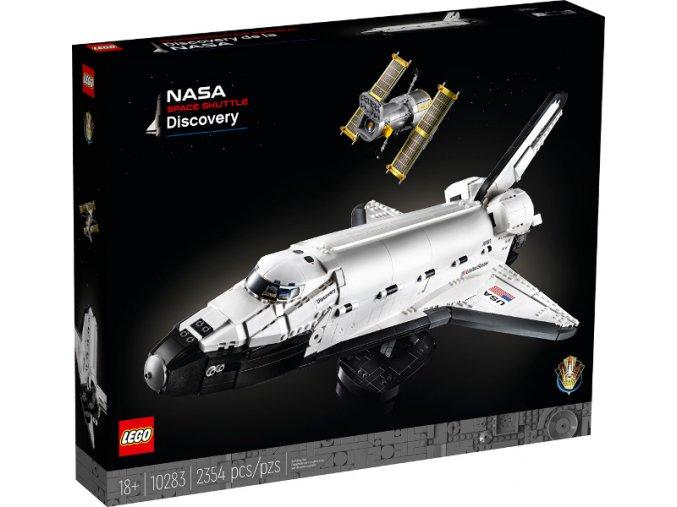 Lego Creator 10283 NASA Raketoplán Discovery  + volná rodinná vstupenka do Muzea LEGA Tábor v hodnotě 370 Kč