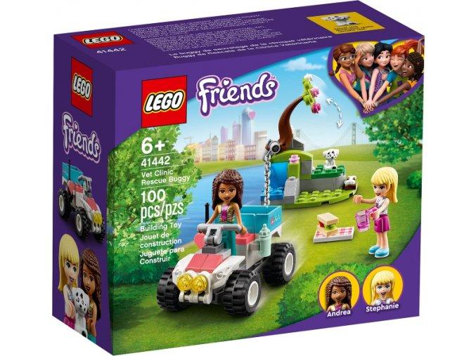 Lego FRIENDS 41442 Veterinářská záchranná bugina