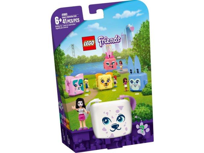 Lego FRIENDS 41663 Ema a její dalmatinový boxík