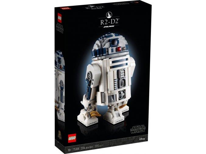 Lego Star Wars 75308 R2-D2  + volná rodinná vstupenka do Muzea LEGA Tábor v hodnotě 370 Kč