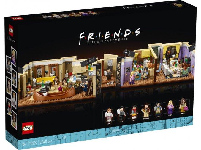 LEGO 10292 Byty ze seriálu Přátelé  + volná rodinná vstupenka do Muzea LEGA Tábor v hodnotě 370 Kč