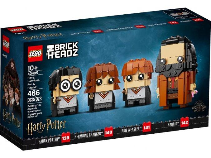 LEGO BrickHeadz 40495 Harry, Hermiona, Ron a Hagrid™