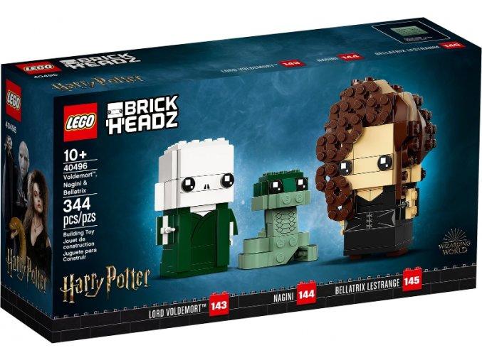 LEGO BrickHeadz 40496 Voldemort™, Nagini a Bellatrix