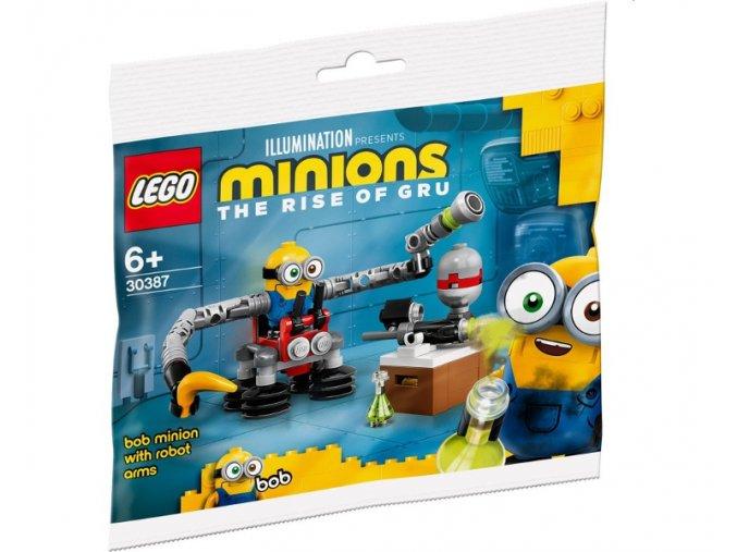 LEGO  Minions 30387 Mimoň Bob s robotickými pažemi
