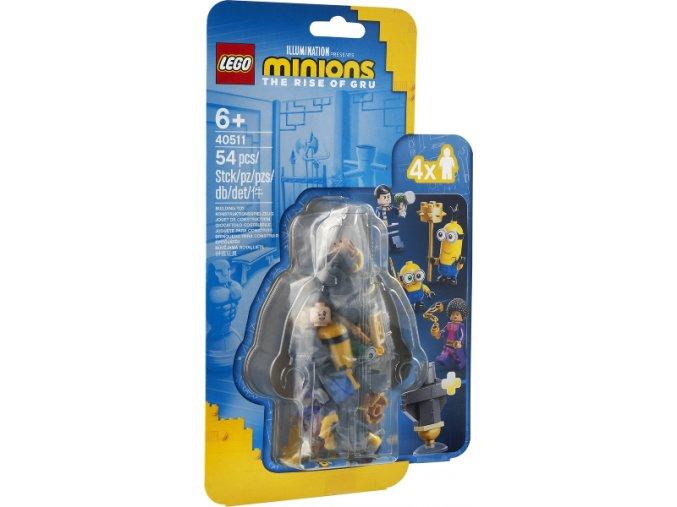 LEGO  Minions 40511 Mimoňský kung-fu trénink