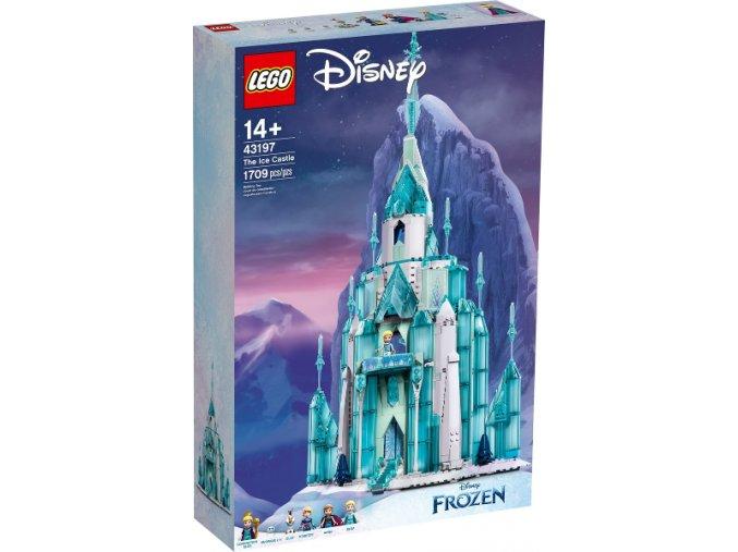 LEGO Disney 43197 Ledový zámek  + volná rodinná vstupenka do Muzea LEGA Tábor v hodnotě 370 Kč
