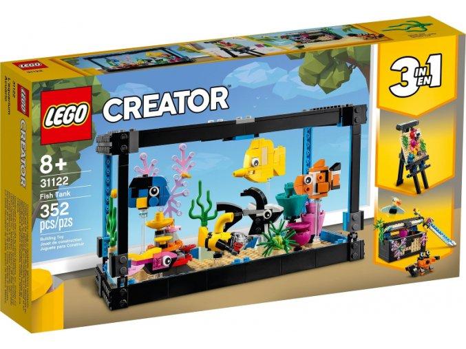 Lego Creator 31122 Akvárium