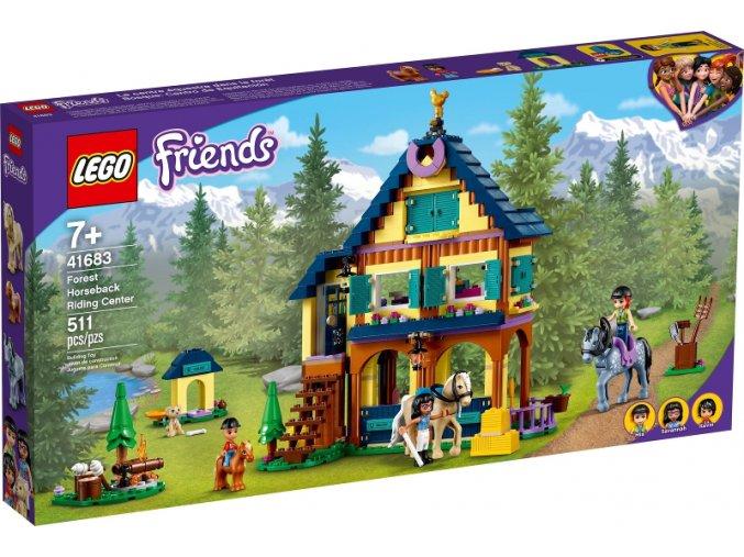 LEGO Friends 41683 Lesní jezdecké středisko
