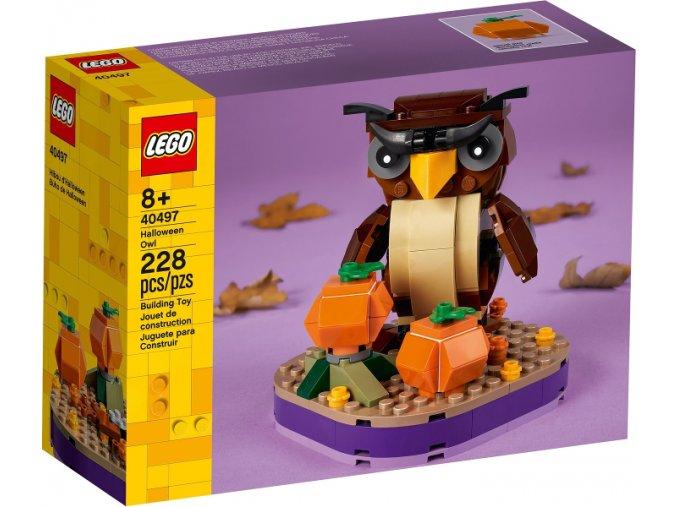 LEGO 40497 Halloweenská sova