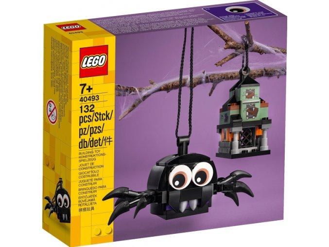 LEGO 40493 Sada pavouka a strašidelného domu
