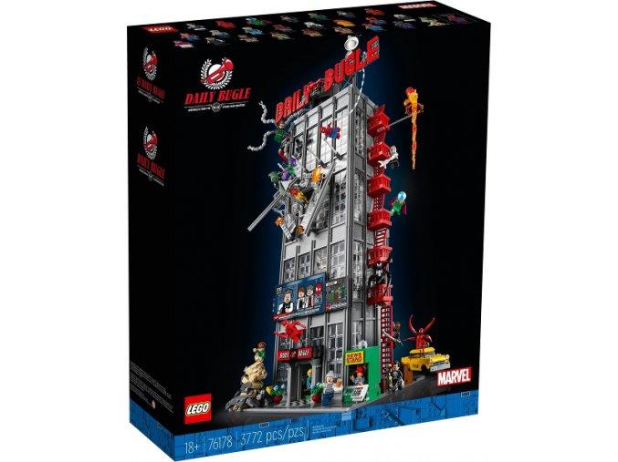 Lego Super Heroes 76178 Redakce Daily Bugle  + volná rodinná vstupenka do Muzea LEGA Tábor v hodnotě 370 Kč