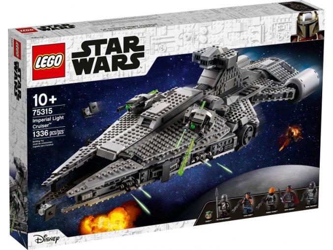 Lego Star Wars 75315 Lehký křižník Impéria  + volná rodinná vstupenka do Muzea LEGA Tábor v hodnotě 370 Kč