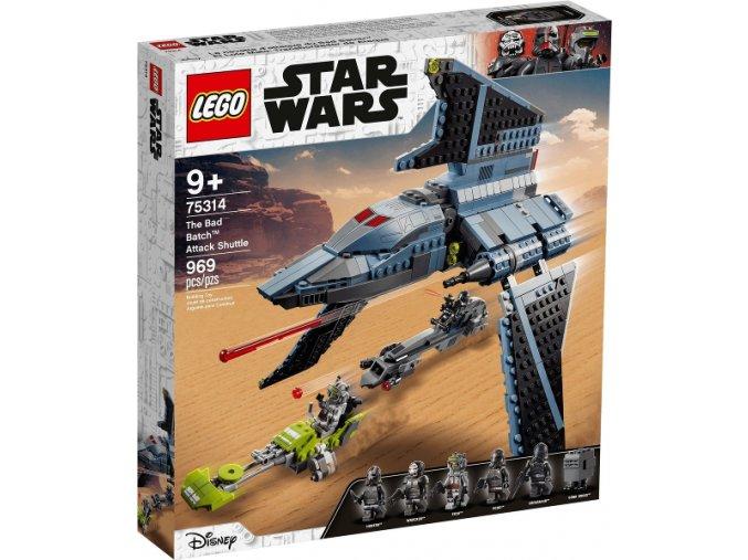 Lego Star Wars 75314 Útočný letoun Vadné várky  + volná rodinná vstupenka do Muzea LEGA Tábor v hodnotě 370 Kč