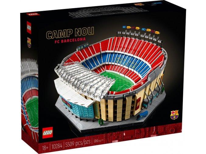 Lego Creator Expert 10284 Stadion Camp Nou – FC Barcelona  + volná rodinná vstupenka do Muzea LEGA Tábor v hodnotě 370 Kč