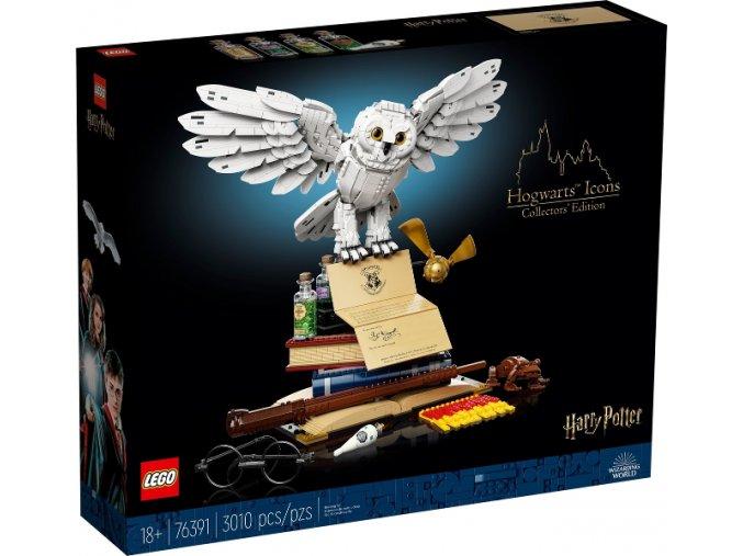 LEGO Harry Potter 76391 Bradavická výbava – sběratelská edice  + volná rodinná vstupenka do Muzea LEGA Tábor v hodnotě 370 Kč