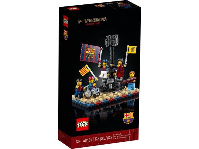 Lego 40485 FC Barcelona Celebration  + volná rodinná vstupenka do Muzea LEGA Tábor v hodnotě 370 Kč