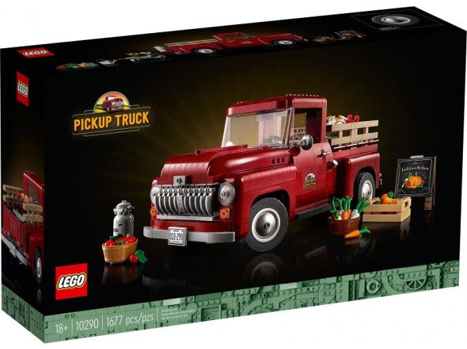 Lego Creator 10290 Pick-up  + volná rodinná vstupenka do Muzea LEGA Tábor v hodnotě 370 Kč