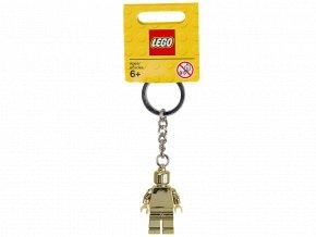 LEGO 850807 Přívěšek na klíče Zlatá figurka